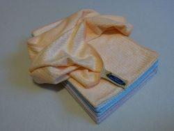 Aqua Clean Geschirrtücher 4 Stück in Orange, Flieder oder Blau Microfaser Tücher