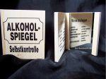 Alkohlspiegel zur Selbstkontrolle aus Holz